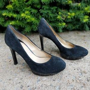 Giani Bini suede black heels